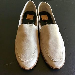 Dolce Vita tan suede loafer (pixy)